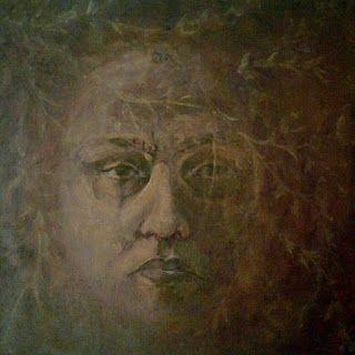 BARDZKA ART: Autoportret z gałązkami