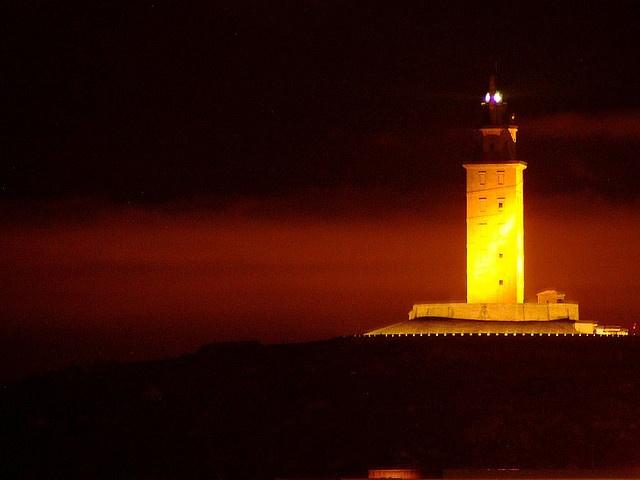 Torre de Hercules, A Coruña, Galicia.