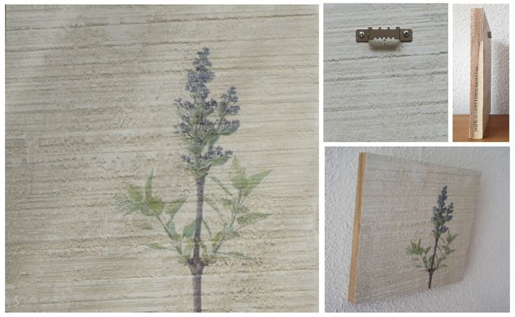 SKETCHED BY LILAC LIGHT - Foto op hout, Photo on wood, print, afdruk, acaciahout, FSC keurmerk