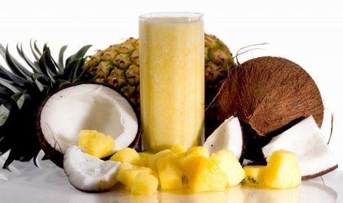 Banános-ananászos smoothie chia maggal