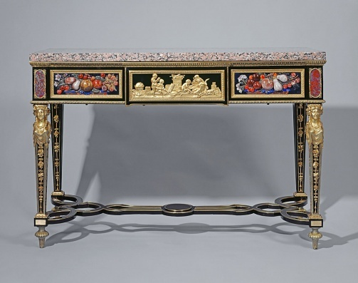 Late 18th century French Console table in the Royal Collection, UK