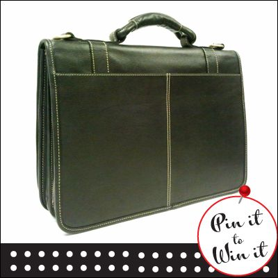 Leather executive briefcase. Want a chance to win it and look the part for your career? Repin this to your board and fill out our entry form here: http://www.quickquid.co.uk/quid-corner/pin-win-1/