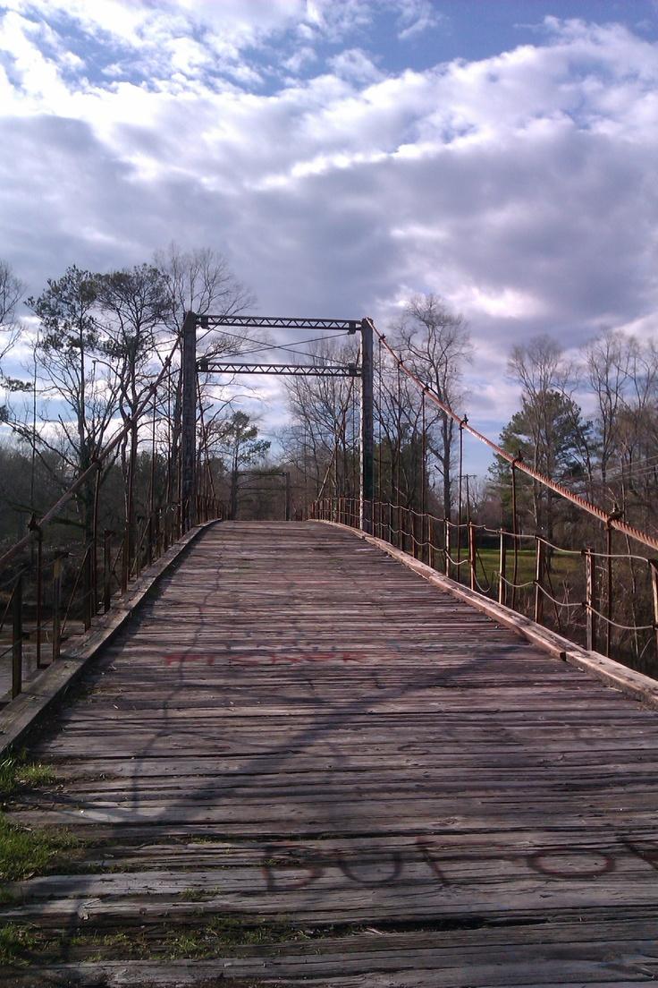 For Mississippi swinging bridge charming idea