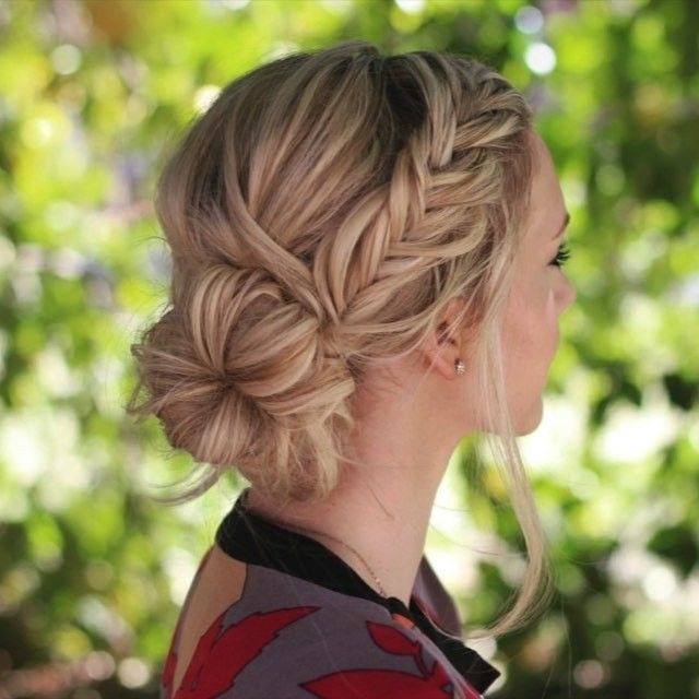 Fantastic 1000 Ideas About Bun Hairstyles On Pinterest Haircuts Hairstyles For Women Draintrainus