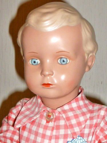 Schildkroetpuppe-Hans-Schildkroet-Puppe-Repropuppe-46cm-Puppen-Junge-Dolls-Doll
