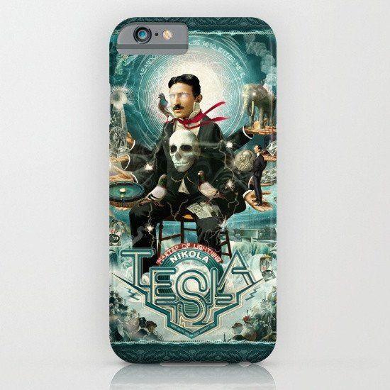 Nikola Tesla iphone case, smartphone