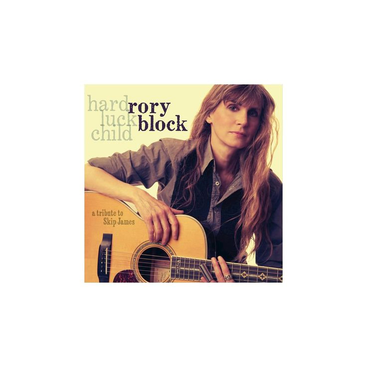 Rory block - Hard luck child:Tribute to skip james (CD)