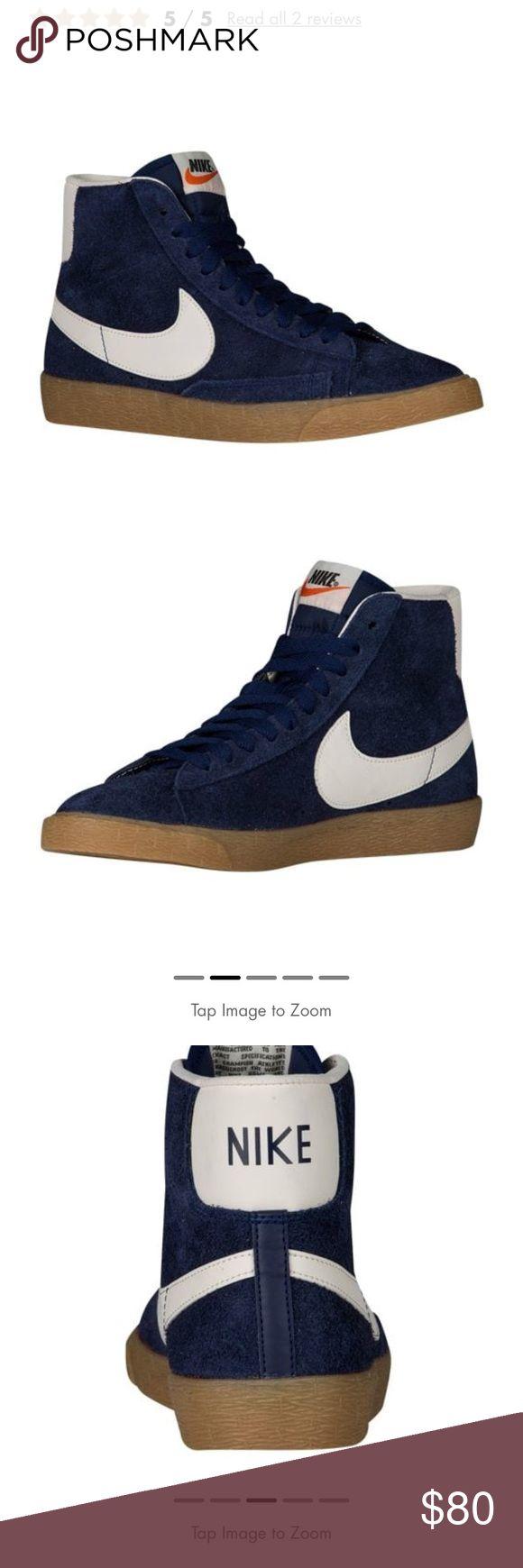 Nike Women Blazer Mid w/ Gum Bottom