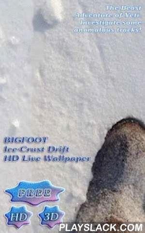 3D Yeti Ice-Crust Drift Free  Android App - playslack.com ,  Echt Full HD, echt 3D.Geen statische foto's - echt 3D Animatie in Full HD uiterlijk.Bigfoot. Yeti. Uitgestorven?Een mystieke wezen.Een beest van epische proporties.Een monster.Biggy De Verschrikkelijke Sneeuwman.Laten we zoeken Bigfoot Yeti volgt samen!Beyond bigfoot ::Folklore of sprookjes waar is?Laten we een kijkje nemen op de afgekoelde harde feiten - die we al kennen en te aanvaarden wat de Yeti als de soort…