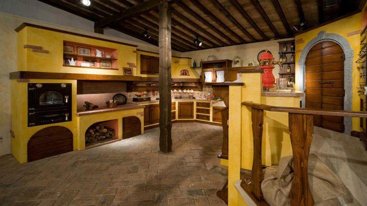 Cucina del Fienile: cucina rustica Il Borgo Antico  ispirazioni ...