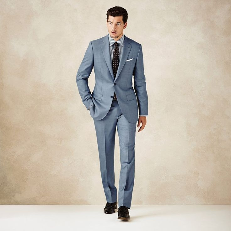 Yet another beautiful boy via FM | Made to Measure suits by Z Zegna S/S 2014—Fashionably Male