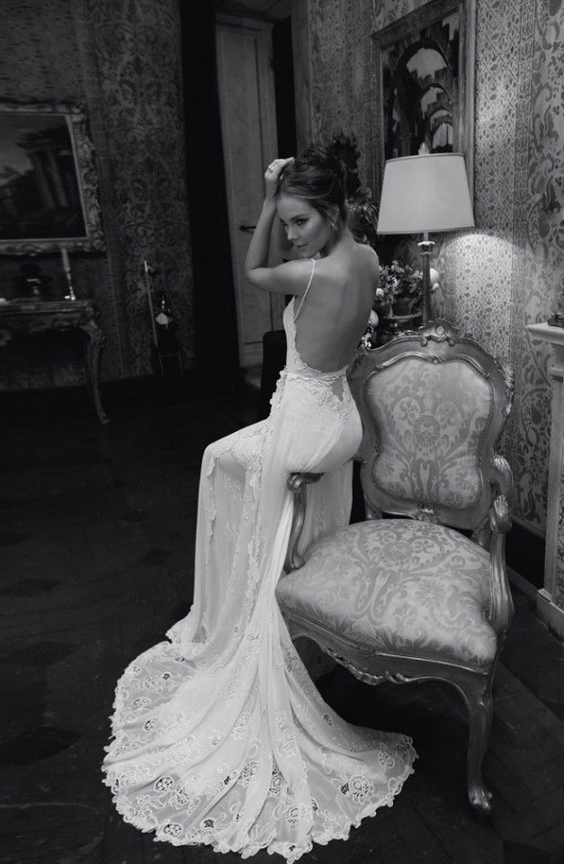 Haute Couture Wedding Dress Just For You Divas #Inbaldror #wedding