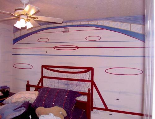 Bedroom Ideas Hockey 7 best hockey room ideas images on pinterest | hockey room