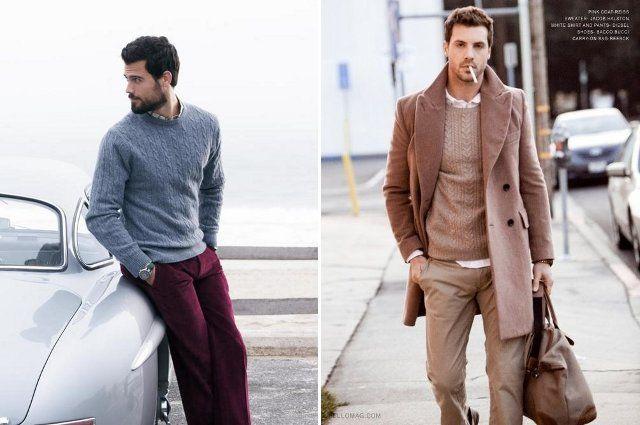 свитер-пиджак пальто