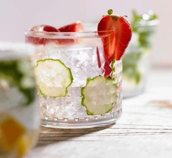 Enjoy a fruity glass of refreshment with this Strawberry Caiprinha recipe