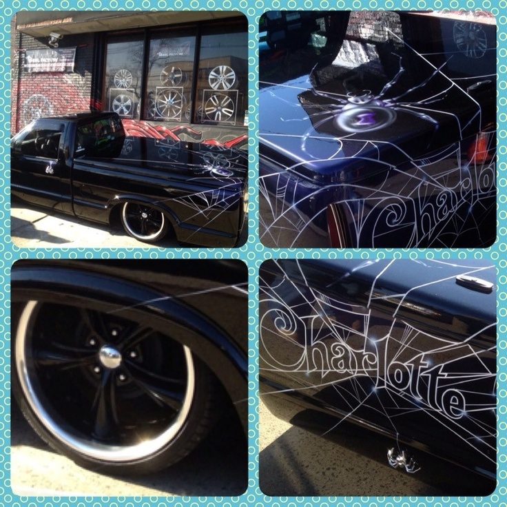 Meet Charlotte Custom 94 Chevy S10 Lowrider Bagged Lowriders