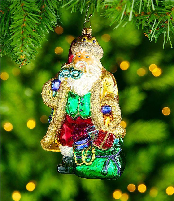 Trimsetter Crescent City Collection Santa Ornament #Dillards