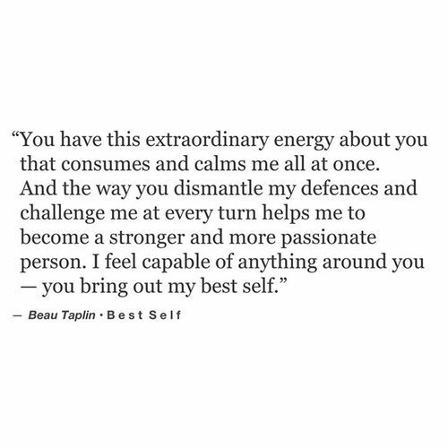 beau taplin posts - All of me loves all of you.