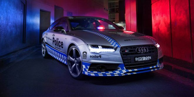 NSW Police Force gets 331kW Audi S7 Sportback for community duties