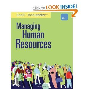 44 best books by darden faculty images on pinterest book books managing human resources by scott a snell fandeluxe Choice Image