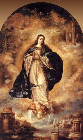 Immaculada Concepcion. di Juan de Valdes Leal Mary