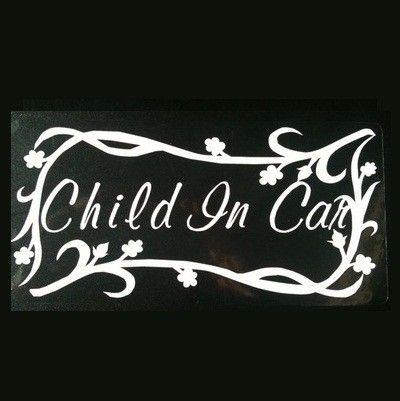 あかちゃん同乗用のステッカーお子様と一緒のドライブの必需品でもなかなかおしゃれなのって、ない・・・さりげなく 【Child in Car 】を貼りたい人へ運転...|ハンドメイド、手作り、手仕事品の通販・販売・購入ならCreema。