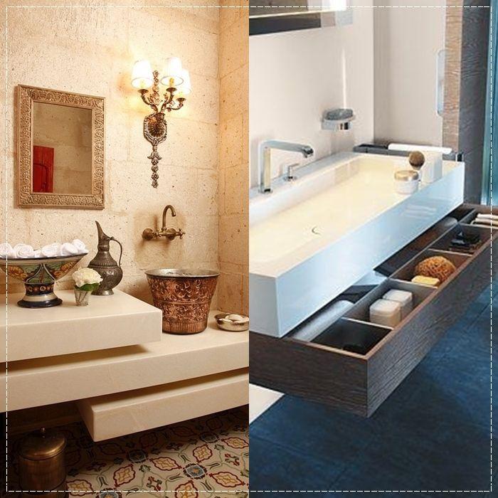 17 melhores ideias sobre gabinetes de banheiro no for Armario para lavabo