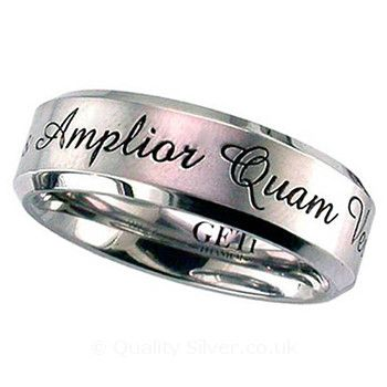 32 best Geti Titanium Rings with a Personalised Finish images on