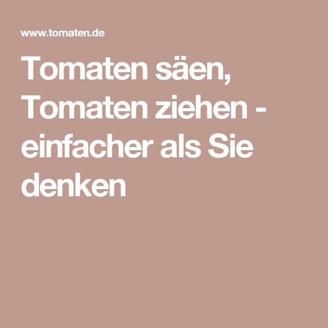 1000+ Ideas About Tomatenanbau On Pinterest | Tomatenpflanzen ... Gewachshaus Bauen Tipps Hobby Gartner Anzucht Gemuse