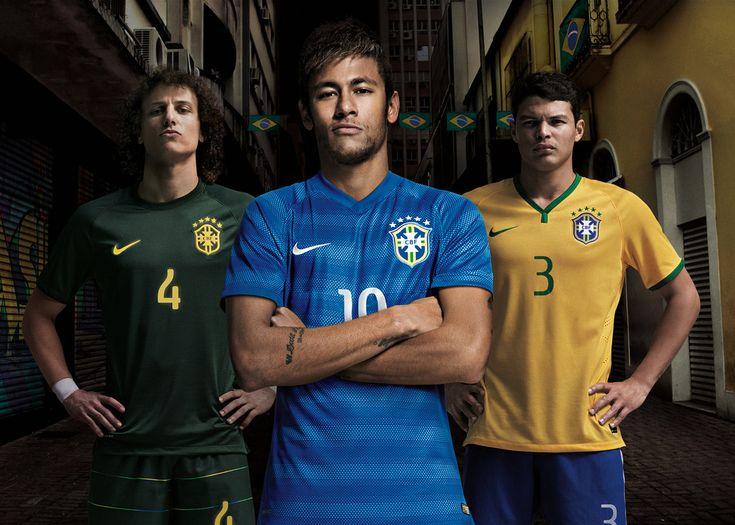 Футбольная форма. Сборная Бразилии. 2014