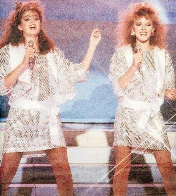 #Kylie Minogue #Dannii Minogue #Team MINOGUE #YTT