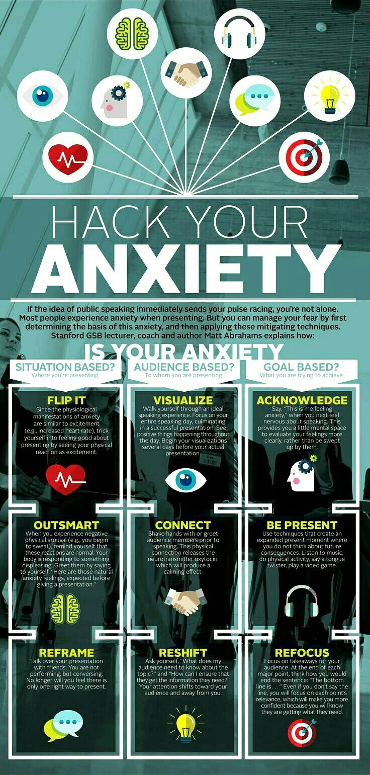 Hack your anxiety.