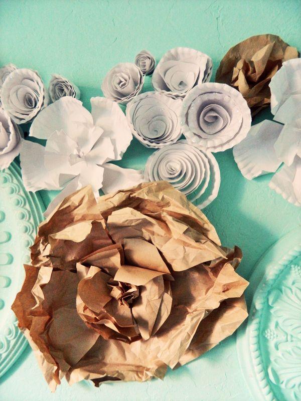 diy paper plate flowers: Flowers Pinwheels Rosette, Flower Creations, Coffee Shops, Diy'S Paper, Crafty Things, Flower Pinwheels Rosette, Crafty Idea, Paper Plates Flower, Crafts