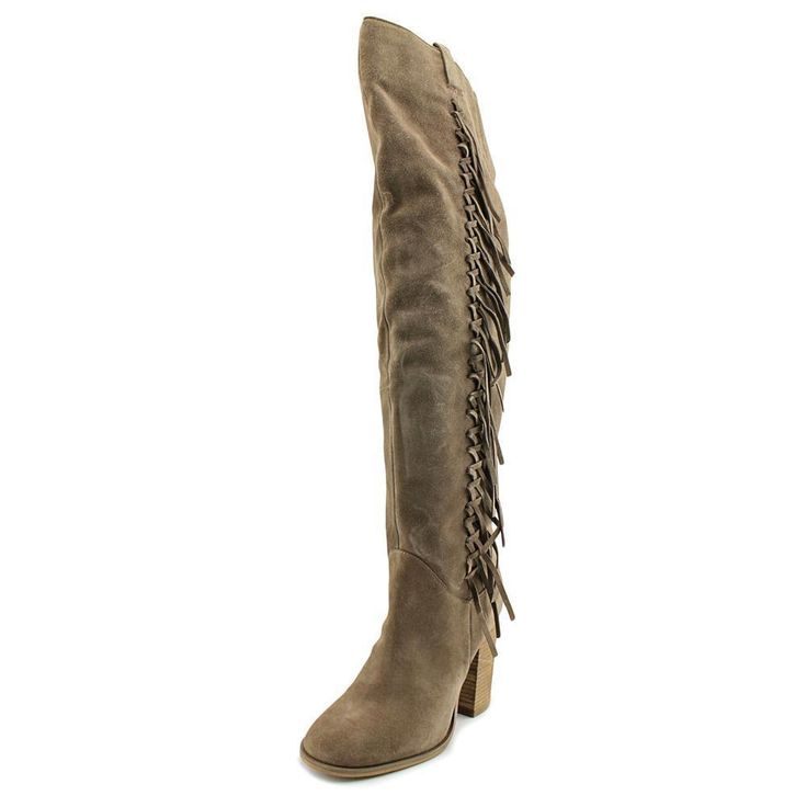 Carlos By Carlos Santana Garrett Round Toe Synthetic Over The Knee Boot