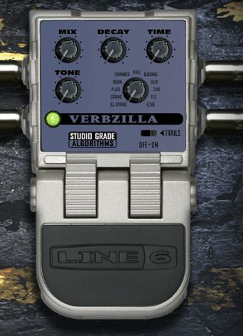 Line 6 Verbzilla - Say what you want. I know you think its noisy (btw, did you power it right?) and blah, blah, blah but this is a bang for the buck machine. I A/B'd it with a Boss RV-5 and an EHX Holy Grail Plus and a ridiculously expensive T Rex Roommate. T Rex was out of my price range and it smoked the Boss and EHX in features, price, and sound. Its the little pedal that could IMHO