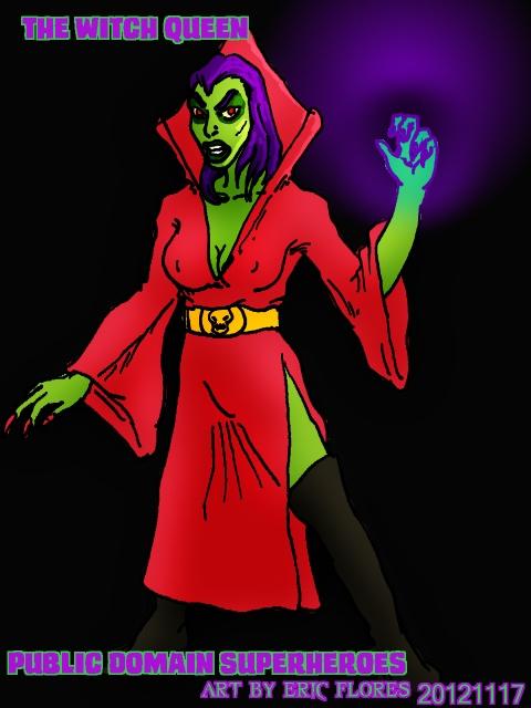 The Witch-Queen Public Domain Villian by cu-morrigan.deviantart.com