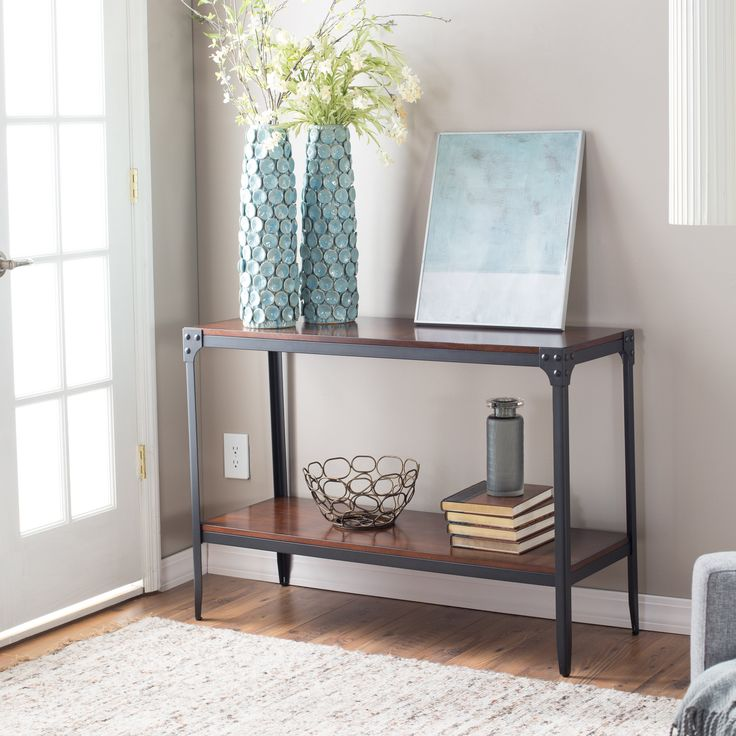 Have to have it. Belham Living Trenton Industrial Console Table - $189.99 @hayneedle