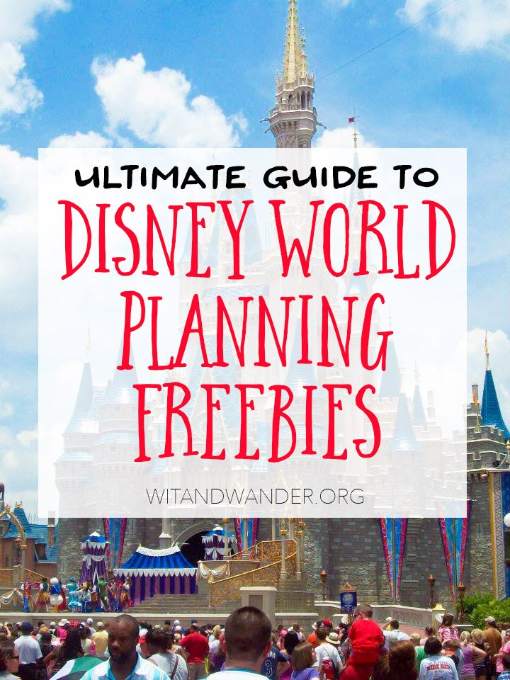 The Best Free Resources for Disney World Vacations - Wit & Wander