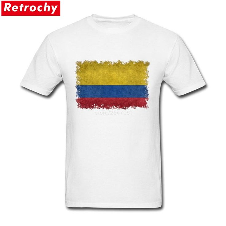Screen Printing Colombian Flag Tees Shirt  For Man Custom Short Sleeve Boyfriend's XXXL Shirt. Yesterday's price: US $22.00 (18.21 EUR). Today's price: US $13.42 (11.00 EUR). Discount: 39%.