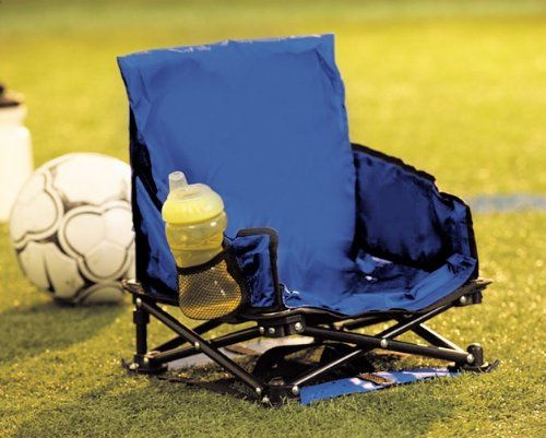 Regalo Portable Camping Chair For Toddler, Blue. For Families On The Go.  Folds