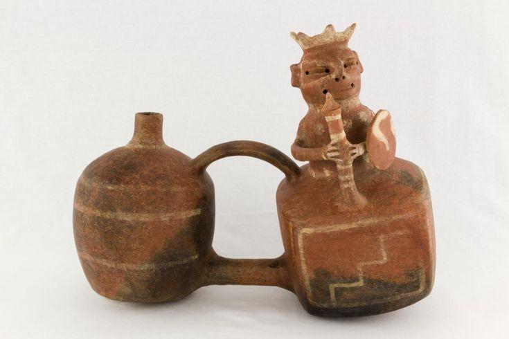 Vessel, Vicus, Peru, north coast, 100 - 700 C.E., Ceramic, Fowler Museum at UCLA. X86.3738.