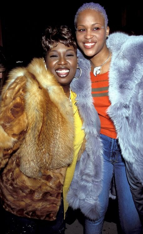 Music mogul Missy Elliot and rapper Eve