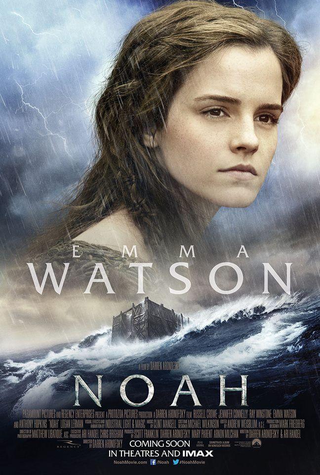 "New ""Noah"" poster, starring Emma Watson"
