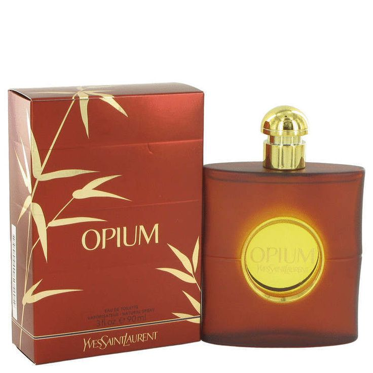OPIUM by Yves Saint Laurent 3 oz / 90 ml EDT Spray Perfume for Women New in Box #YvesSaintLaurent