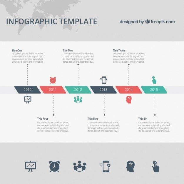 Baixe Template Infografico Timeline Gratuitamente Visualisation De Donnees Frise Chronologique Design Infographie