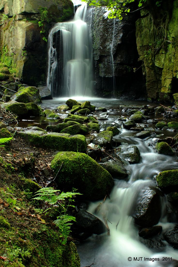 Photograph Lumsdale Falls by Michael Topley on 500px