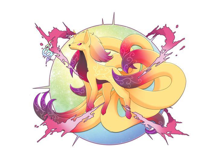 mega Ninetales fan art | Fakemon | Pinterest | Fan art ...