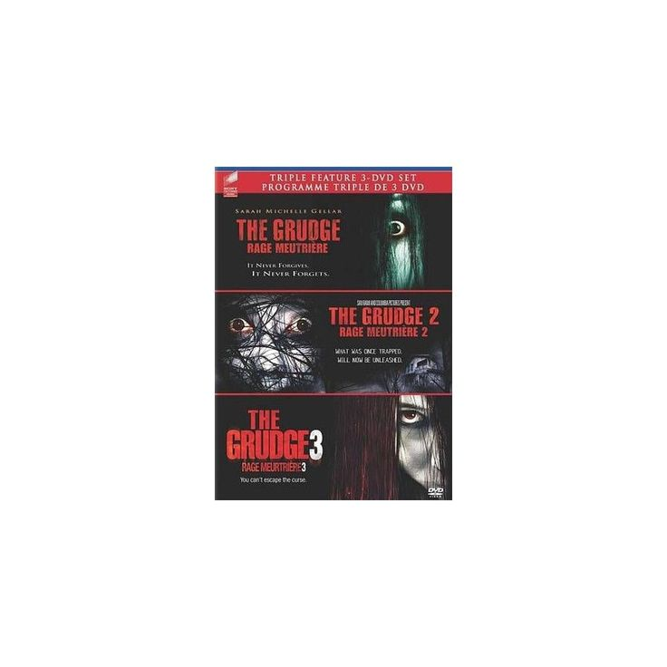 The Grudge Triple Feature: The Grudge/The Grudge 2/The Grudge 3 (3 Discs) (dvd_video)