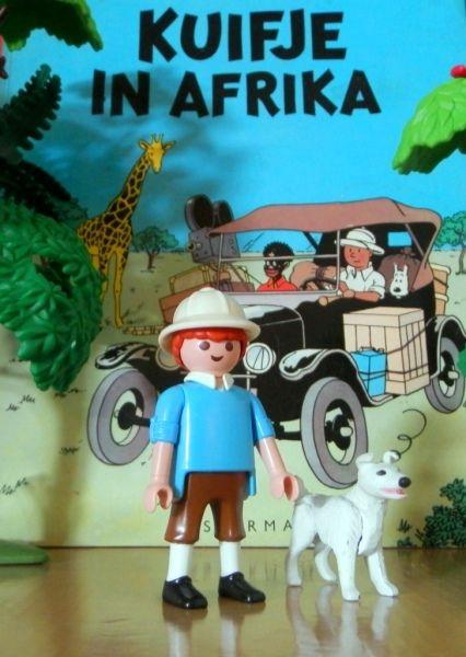 "The Adventures of Tintin; ""Tintin in Africa"""