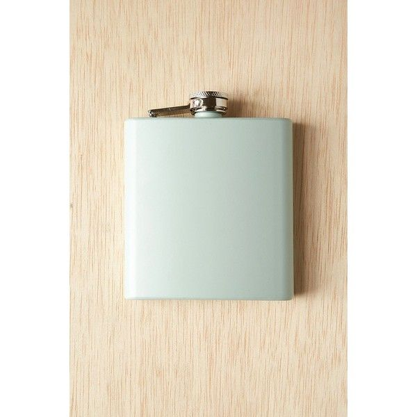 6 Oz Classic Flask (£9.07) ❤ liked on Polyvore featuring home, kitchen & dining, bar tools, mint, 8oz flask, stainless steel hip flask, stainless flask and stainless steel flask